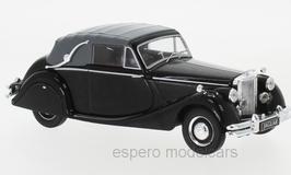 Jaguar MK V 3.5 Litre DHC Convertible 1948-1951 RHD schwarz