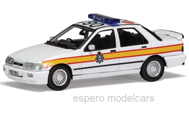 "Ford Sierra Sapphire RS Cosworth 4x4 RHD 1988-1992 ""Sussex Police weiss / gelb"""