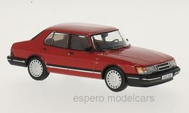 Saab 900i Sedan Phase II 1987-1991 rot