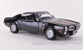 Pontiac Firebird TransAm 1970-1974 schwarz mit Decor
