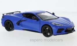 Chevrolet Corvette C8 seit 2020 blau / schwarz