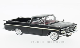 Chevrolet El Camino Pick Up 1959 schwarz / creme
