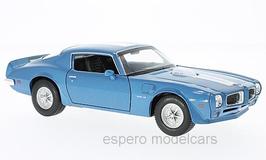 Pontiac Firebird TransAm II 1970-1974 blau met. / weiss