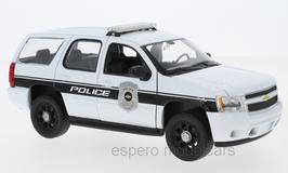 Chevrolet Tahoe III 2006-2013 General Motors Police weiss