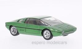 Lamborghini Bravo Salon Turin 1974 grün met.