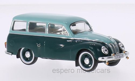 IFA F9 Kombi 1950-1953 türkis / dunkelgrün