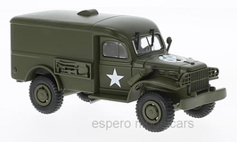 Dodge WC 54 1942-1945 US Army oliv
