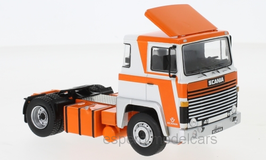 Scania LBT 141 Zugmaschine 1976-1981 weiss / orange