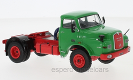 MAN 19.280 LKW Zugmaschine 1971 grün / rot