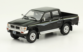 Toyota Hilux SR5 Doka Pick Up Phase I 1997-2002 schwarz / Decor