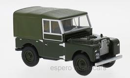 Land Rover Series I 88 Canvas 1948-1958 RHD dunkelgrün / oliv