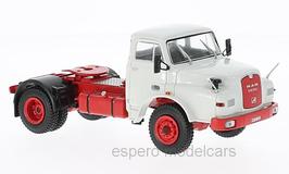 MAN 19.280H LKW Zugmaschine 1971 hellgrau / rot