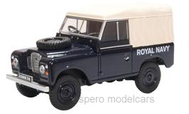 Land Rover Series III SWB 1971-1984 RHD Canvas Royal NAVY dunkelblau / beige