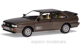 Audi Quattro II 1982-1984 RHD Sable brown met.