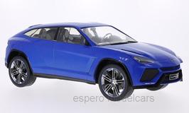 Lamborghini Urus Concept Car 2012 Auto China Peking dunkelblau met.