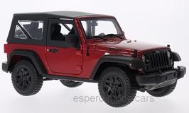"Jeep Wrangler ""Willys"" Softtop seit 2014  rot / schwarz"