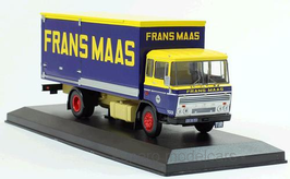 """DAF 2600 Kasten 1962-1974 """"Frans Maas"""" NL gelb / blau / rot"""