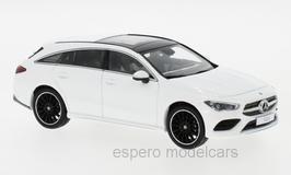 Mercedes-Benz CLA Shooting Brake X118 seit 2020 weiss / schwarz