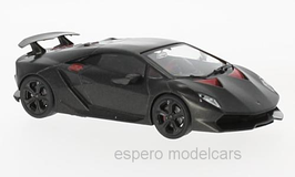Lamborghini Sesto Elemento Concept Car Salon Paris 2010 anthrazit / rot