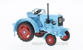 Eicher ED 2511 Traktor 1951 hellblau / rot