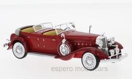Chrysler Imperial Le Baron Phaeton 1933 dunkelrot