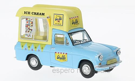 "Ford Thames 307E Van 1961-1967 ""Wall' s Ice Cream hellblau / gelb"