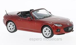 Mazda MX-5 III NC Phase III RHD 2012-2015 dunkelrot met.