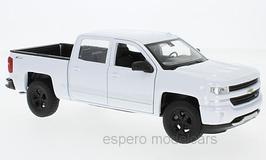 Chevrolet Silverado Doka Pick Up seit 2018 weiss