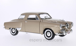 Studebaker Campion Starlight Coupé 1950 beige met.