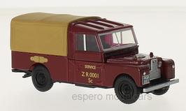 """Land Rover 109 Series I 1948-1958 RHD """"British Railways"""" dunkelrot Pritsche/ Plane"""
