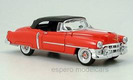 Cadillac Eldorado Convertible 1953 rot / Verdeck schwarz geschlossen