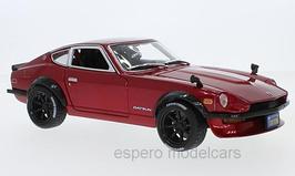 Datsun 240Z Tokyo Mod 1971 dunkelrot met. / matt-schwarz