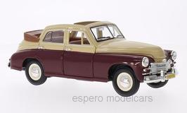 GAZ M20 Pobeda Cabrio-Limousine1946-1958 creme / dunkelrot