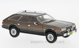 AMC Eagle Wagon AWD 1979-1986 dunkelbraun met. / schwarz