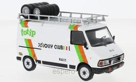 Fiat 242 Lieferwagen Phase I 1975-1980 Assistance Totip Jolly Club 1985 weiss / Decor