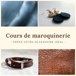Cours de maroquinerie