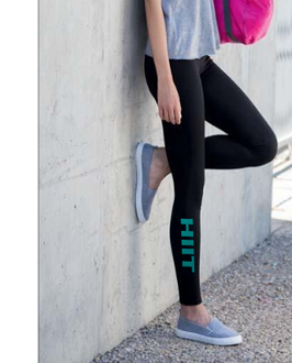 Work-Out Leggings / 2in One Black