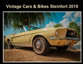 Buch: Vintage Cars & Bikes 2018