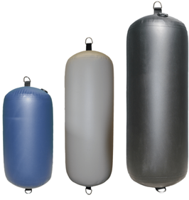 Heavy Duty Inflatable Fenders - Cylinder
