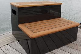 Carbon Dock Steps