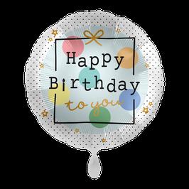 "Happy Birthday ""Dots"""