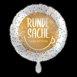 "Happy Birthday ""Runde Sache"""