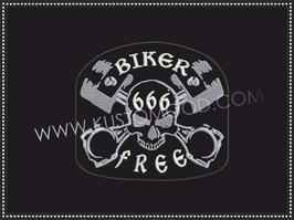 666 FREE BIKER