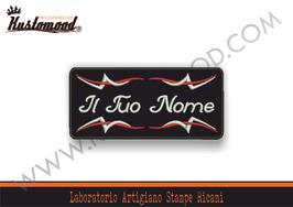 TOPPA NICKNAME CUORE - IL TUO NOME