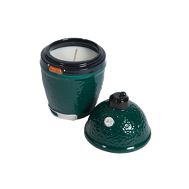 Ceramic Citronella Filled Candle - Big Green Egg Zitronellakerze