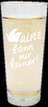 'Mainz kann mir keiner' Weinstange