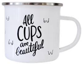 All Cups are beautiful Tasse