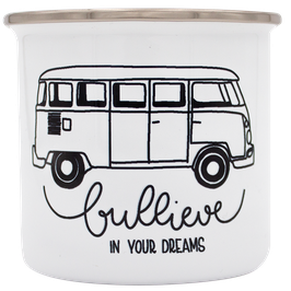 """Emailletasse """"Bullive in your dreams"""""""