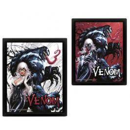Pyramid 3D Lenticular Poster - Venom (Teeth And Claws)