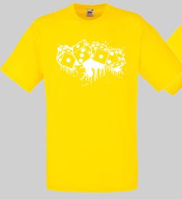Würfel Shirt Gelb